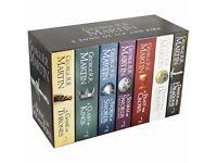 Game of Thrones book set George R.R Martin