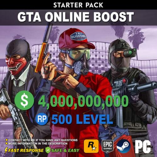 GTA 5 Online Boost Starter Pack All Unlocks