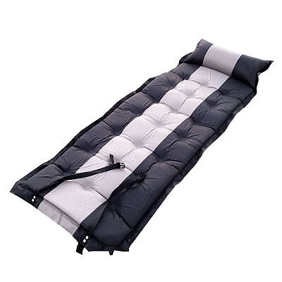 Self Inflating Camping Sleeping Pad Mattress Mat Outdoor Tent Bed with Pillow