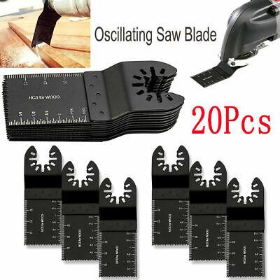 20pcs Oscillating Saw Blade Multi Tool For Dewalt Bosch Milwaukee Porter Cable