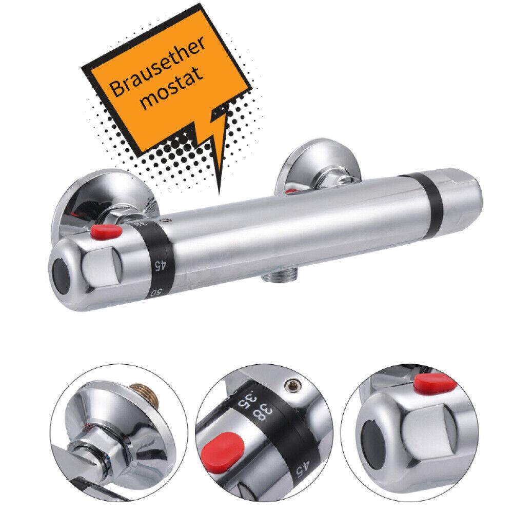 Duschthermostat Mischbatterie Duscharmatur Thermostat Kupfer Brausethermostat