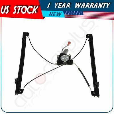 New Power Window Regulator fits Chrysler Town & Country Front Left with -