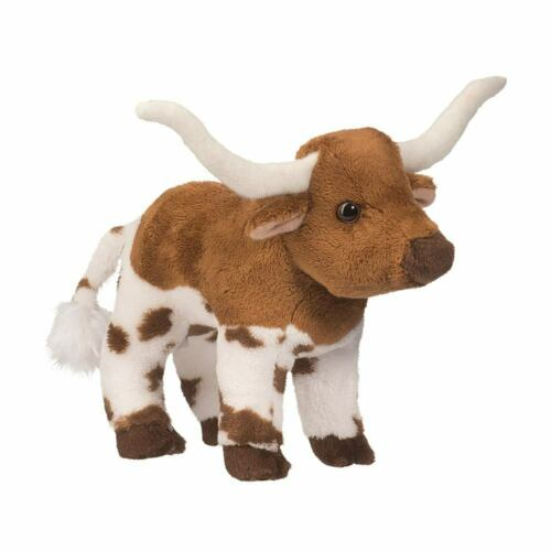 ZEB the Plush TEXAS LONGHORN BULL Stuffed Animal - Douglas Cuddle Toys - #1576
