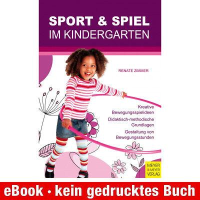 eBook-Download (EPUB) ★ Renate Zimmer: Sport und Spiel im Kindergarten