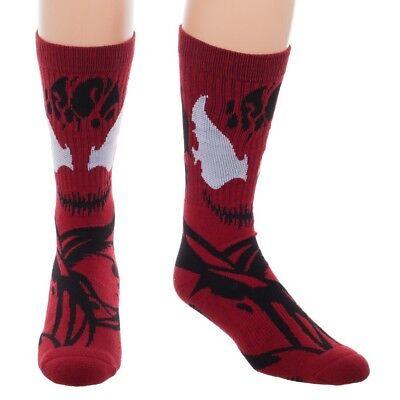 Carnage Spider-Man Spiderman Suit Up Costume Marvel Comics Adult Crew - Marvel Carnage Costume