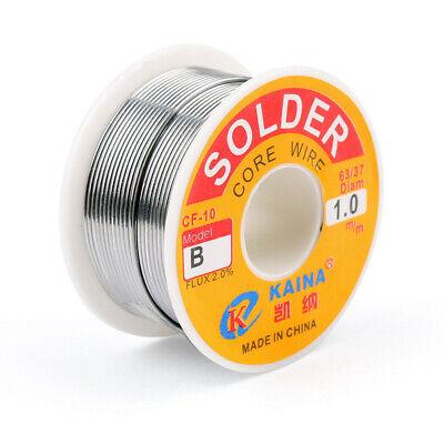 1mm 6337 Tin Lead Line Soldering Rosin Core Solder Flux Welding Iron Wire Reel