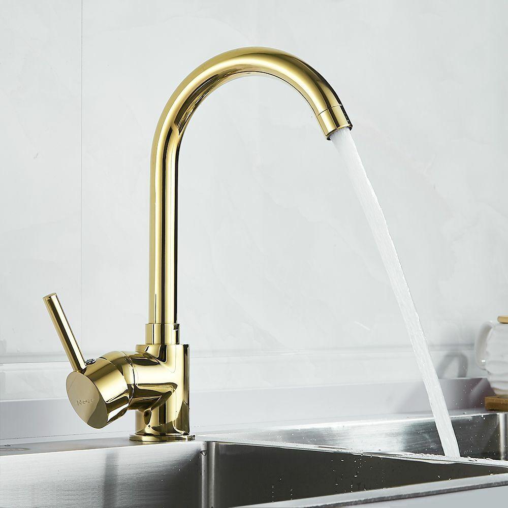 küche einhandmischer wasserhahn waschbecken armatur rea
