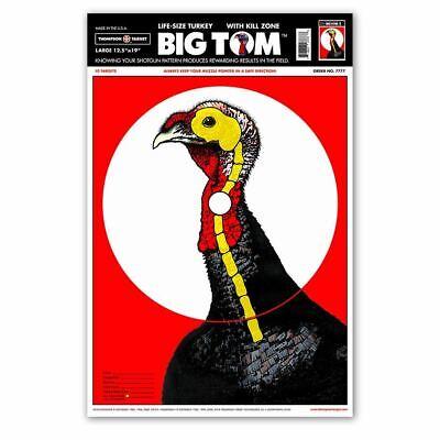 Thompson Target | Life-Size Turkey Paper Shotgun Hunting Targets - -