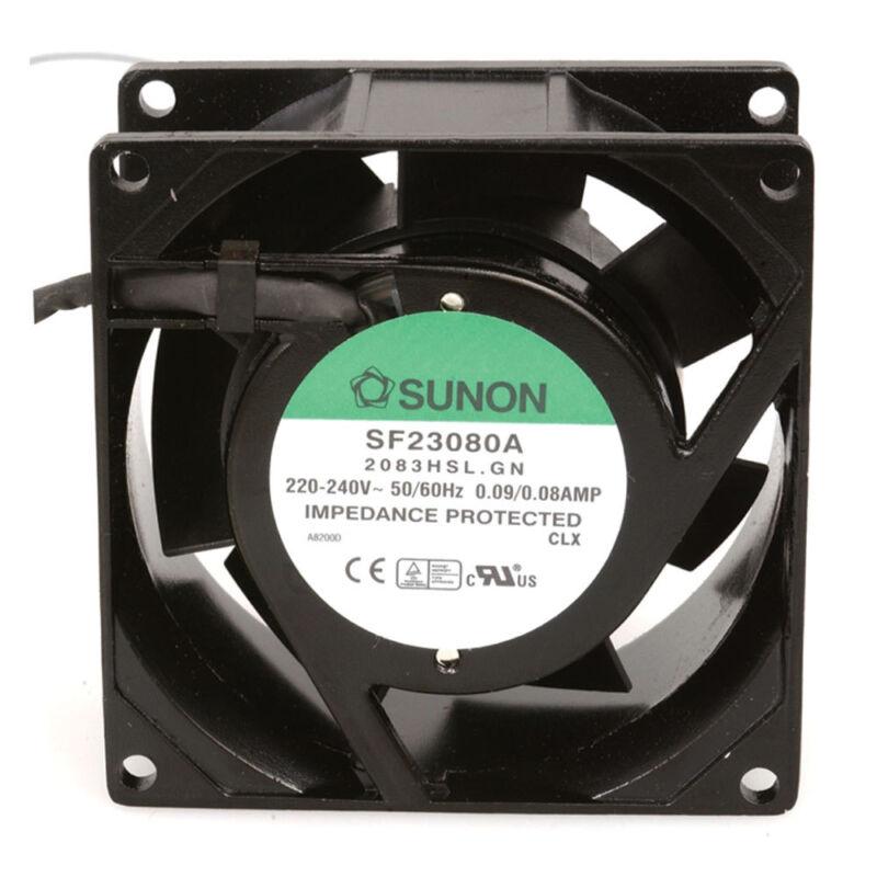 Sunon SF23080A/2083HSL.GN AC Fan Sleeve 220 Volt240 Volt 0.09a-0.08a 18w-16w 50h