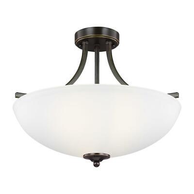 Sea Gull Lighting-7716503-782-Geary - 100W Three Light Medium Sea Gull Trio