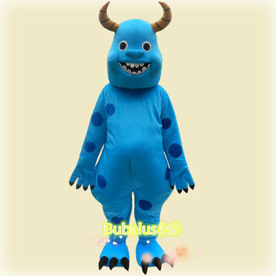 Sully Adult Costume (Blue Ox Sully Animal adult Cartoon/Mascot costume Festival/Christmas Fancy)