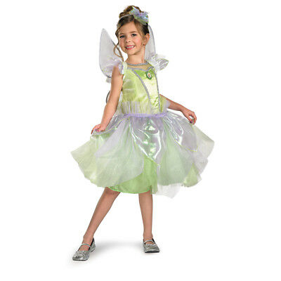 Girls Tinker Bell Tutu Prestige Costume size Medium 7-8 - Teen Tinkerbell Costumes