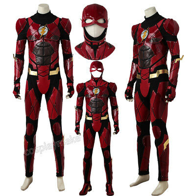 Justice League Flash Costume Halloween Costume Jumpsuit Accessories Hat Shoes - Halloween Costumes Accessories Cheap