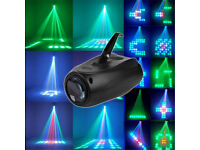 Bright Twisting LED Moon Flower Lighting Effect Quality Solid DJ Light Club Disco Band Stage Party