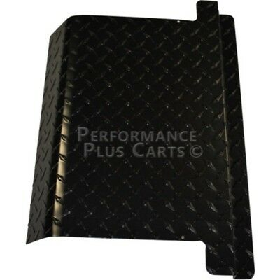 EZGO Golf Cart Black Diamond Plate Access Panel