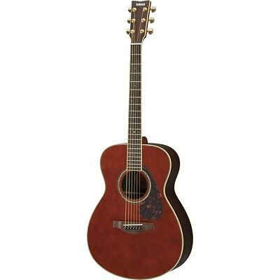 Yamaha B-Stock LS6 ARE Small Body Concert Acoustic-Electric Guitar - Dark Tinted