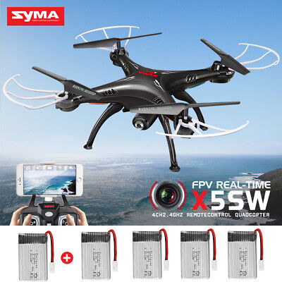 Syma X5SW Explorers Upgrade FPV 2.4Ghz RC Drone Quadcopter HD WIFI Camera Gift