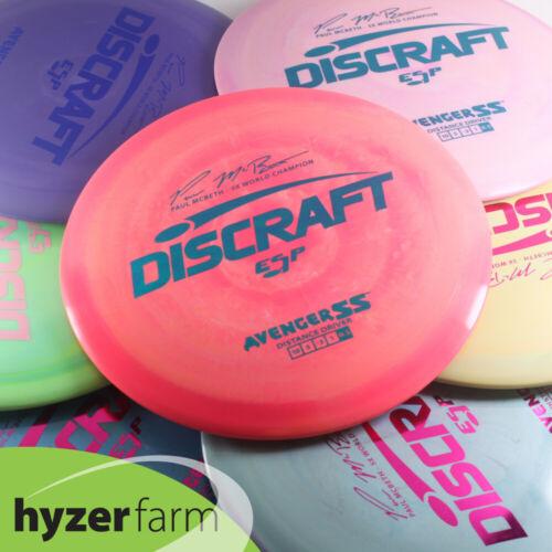 Discraft  ESP AVENGER SS *pick weight & color* Hyzer Farm disc golf PART ONE