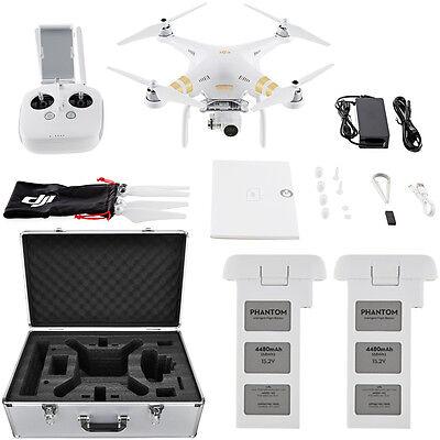 DJI Phantom 3 4K Quadcopter Drone with 4K Camera and 3-Axis Gimbal Flight Bundle