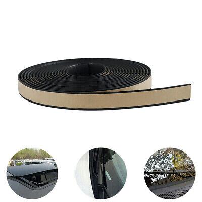 16Feet Car Windshield Trim Edge Moulding Rubber Weatherstrip Seal Strip Black