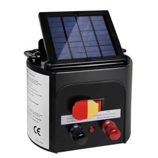 FREE SHIPPING - Solar Power Electric Fence Energiser Energizer Ch