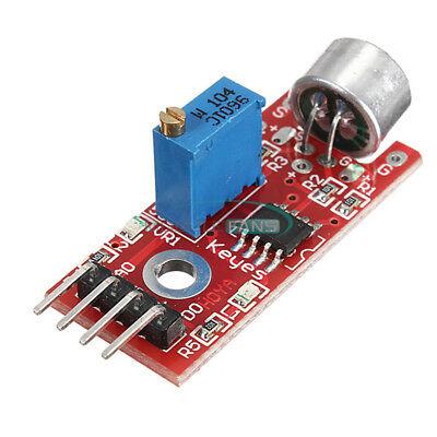 12510pcs Microphone Sensor Sensitivity Sound Avr Pic Detection For Arduino