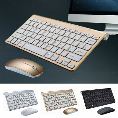 Mouse AND Keyboard MINI WIRELESS 2.4GHZ COMBO FOR APPLE IMAC MACBOOK PRO