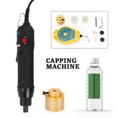 Manual Screw Capper Sealing Tool Handheld Electric Bottle Capping Machine 1-30mm