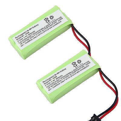 2x Phone Battery For Uniden Dect 6.0 1.9ghz Bt-1008 Bt1008 2080-3 Bt-1016 Bt1016