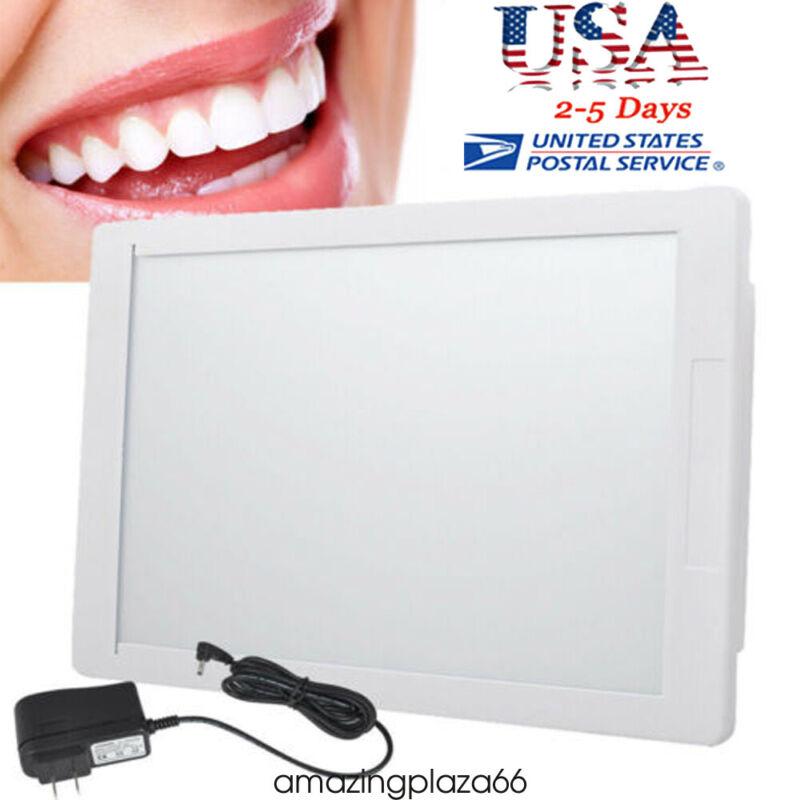 Dental X-Ray Film Illuminator Light Box Negative Viewer light Panel 11*8.5'' USA