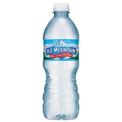 Ice Mountain Natural Spring Water 16.9 oz Bottle 40 Bottles/Carton 1039247