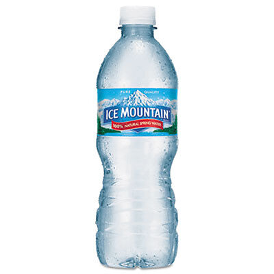 Ice Mountain Natural Spring Water 16.9 oz Bottle 40 Bottles/Carton 1039247 - Mountain Spring Water