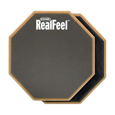 Evans RealFeel 2-Sided Speed and Workout Drum Pad Gray 12 in.