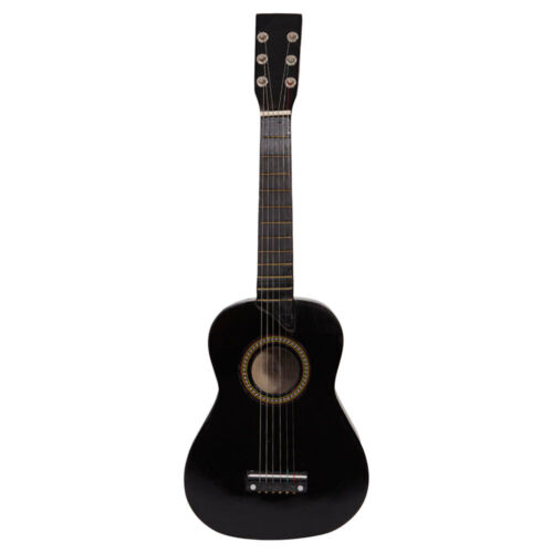 25 Black Acoustic Guitars Pick String Entry-level Acoustic Guitarra Beginners - $14.88