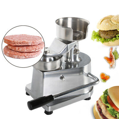 Beef Burger Hamburger Press Maker Heavy Duty NonStick Pounder Dia 130mm