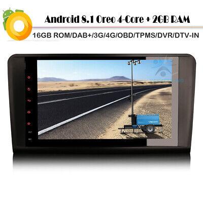 "9"" Android 8 DAB+Autoradio GPS Mercedes ML/GL-Klasse W164 X164 Navigation BT 4G"
