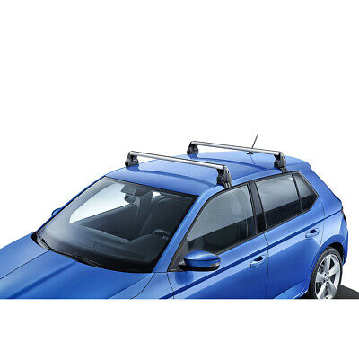 Reisen & Touring Für Skoda Fabia Kombi ab 15 Stahl Dachträger Fahrzeugspezifish Kpl. Dachgepäck- / Grundträger