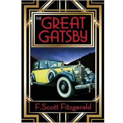The Great Gatsby book By F. Scott Fitzgerald Paperback 9781785993169 NEW