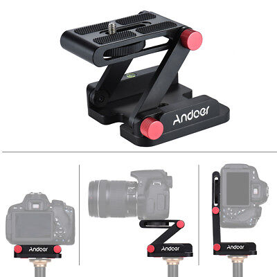Z-Type Camera Folding Tripod Flex Pan & Tilt Ball Head Desktop Stand Holder A5S9