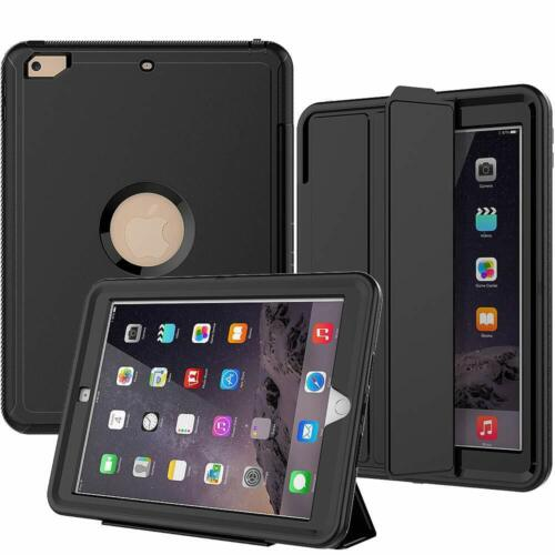 Kids Shockproof Smart Stand Folio Case Cover with Screen for