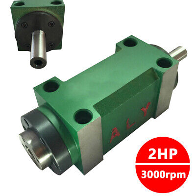 Mt2 Spindle Unit 2hp 3000rpm Power Head For Cnc Drilling Milling Machine