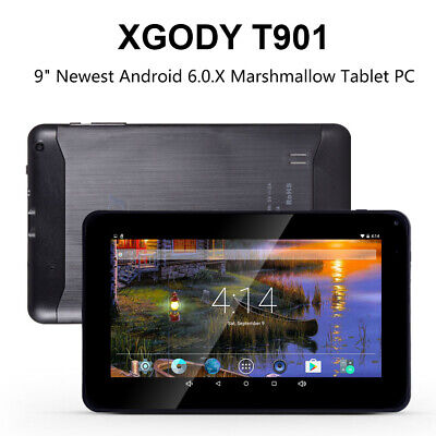 "XGODY 2020 T901 9"" INCH Android Tablet PC 16GB Quad Core WIF"