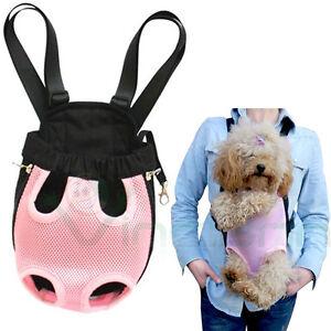 Borsa marsupio trasportino tessuto rosa per cane piccola for Marsupio per cani di piccola taglia