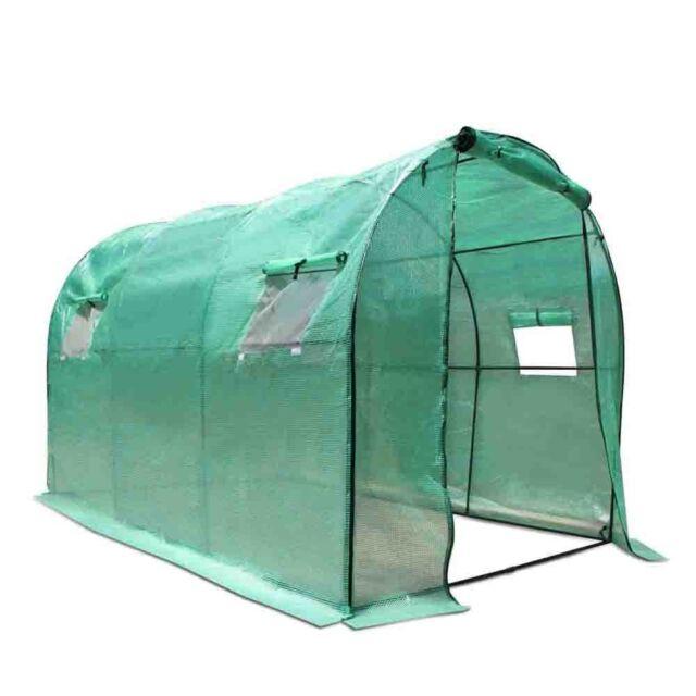 New Greenhouse Walk-In Outdoor 3M x 2m Garden Yard Portable Gardening Hot House