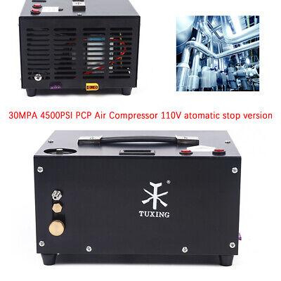 30mpa 4500psi Pcp Airgun High Pressure Air Compressor Scuba Auto Stop