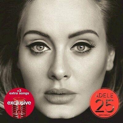 Adele   25 Target Exclusive Cd 3 Bonus Tracks Brand New Hello