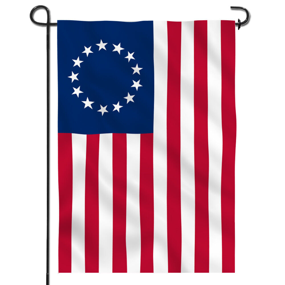 garden flag usa betsy ross decorative u