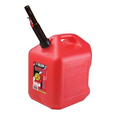 5 Gallon Gas Can Spout Fuel Jug Gasoline Plastic Container Free Shipping