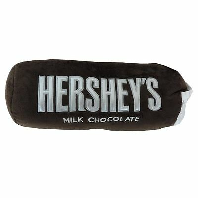 Officially Licensed Hershey Bar Embroidered Plush Travel Pillow - Neck Roll Officially Licensed Plush Pillow