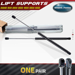 2 Hood Lift Supports Shock Struts for Dodge Ram 1500 2500 3500 4500 02-2010 4364